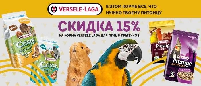 VERSELE-LAGA скидка 15% (до 25.11.2020г)